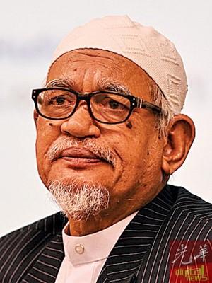伊斯兰党主席拿督斯里哈迪阿旺。