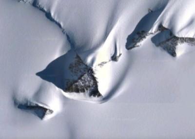 阴谋论者怀疑NASA对北极的情况有所隐瞒。
