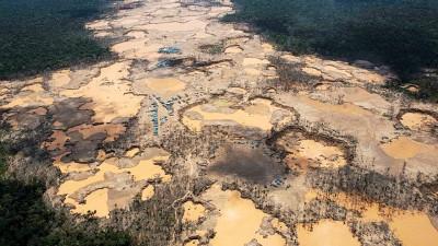 马德雷德迪奥斯大区由于过度开采黄金,水银污染极严重。