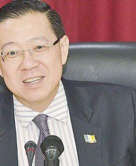 槟首长林冠英:中央政府应以开明心态,接受州政府申建第三大桥。