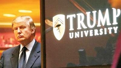 特朗普大学被指名不副实,遭到不少学员起诉索偿。