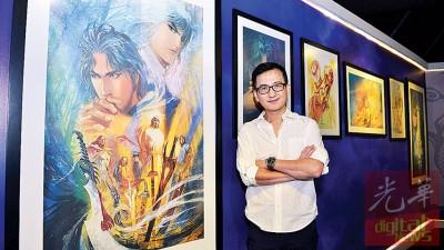 马荣成所作《风云》为港漫销售之冠。