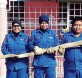 玻州民防部队早前在州内捕捉的蛇只。