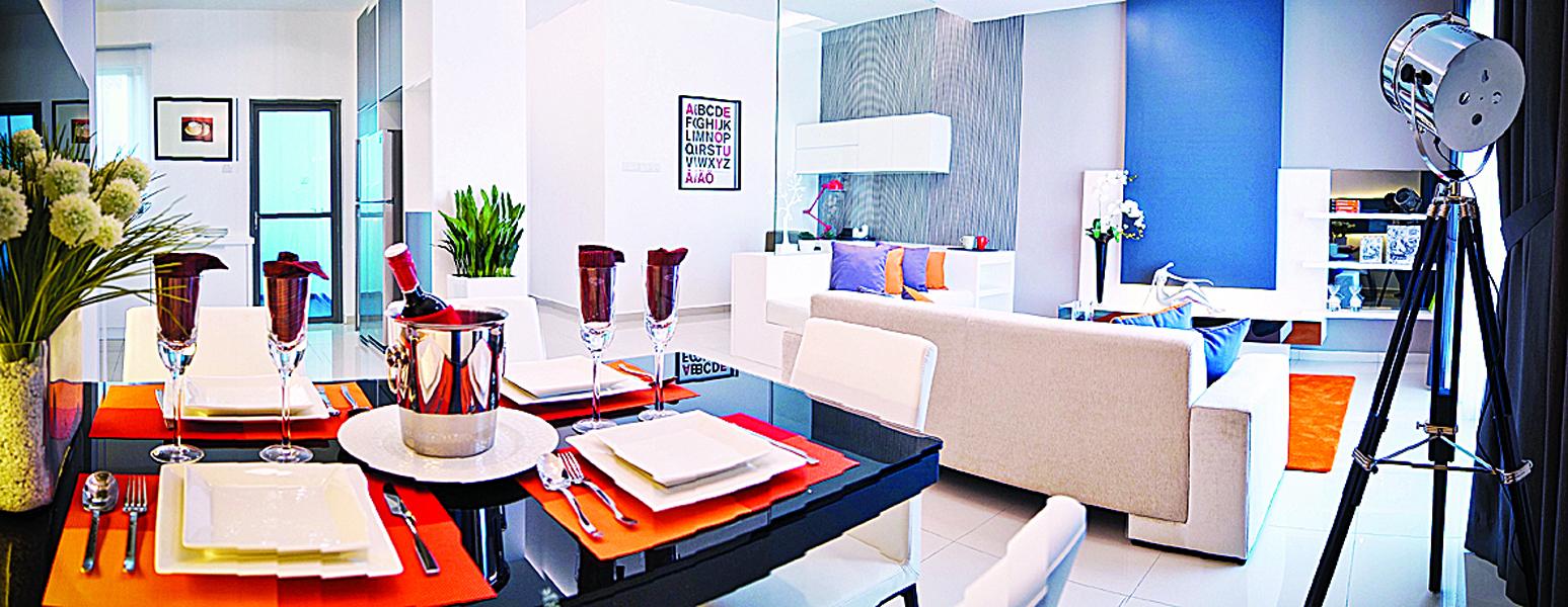舒适的One Imperial公寓,让人一回到家就想一直窝在家里。