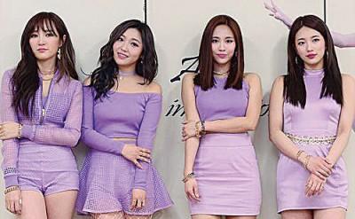 missA的成员Jia(左)无预警退团震惊粉丝。
