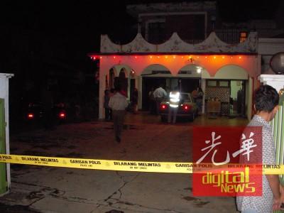 相信是熟人所为,独自在家的前警官78岁老妻遭掐死。