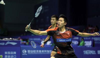 吴蔚昇/陈蔚强获得对古健杰/陈文宏之2连胜,迈进印尼羽赛8大。