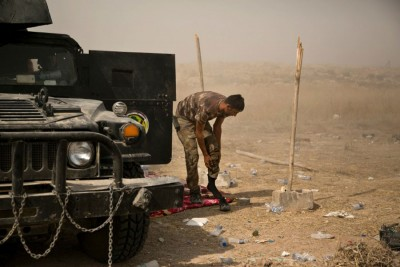 伊拉克部队已包围费卢杰市。