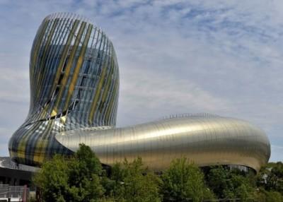 Cite du Vin修筑设计极富时尚感。