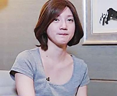 Lisa戴假发受访,澄清自己并非秦舒培与前夫的小三。