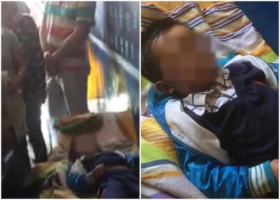 4岁男童被遗留在校车内,疑遭焗死。