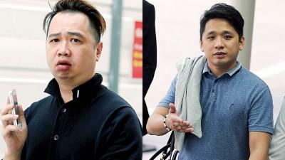 (左)前警曹许耀光知法犯法,被判坐牢19个月和罚款6万新元。(右)事先通知非法职员跑路,夜店经理林永俊被判坐牢4个星期。
