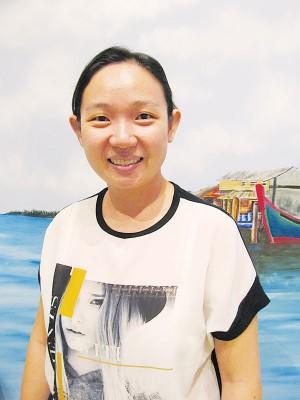 壁画老师黄静忆表示馆内的画综合式。
