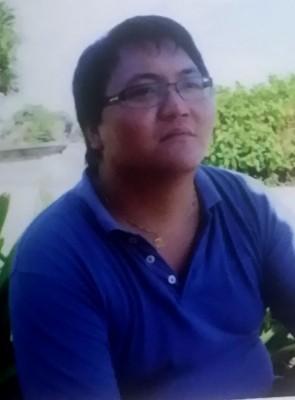 连人带车坠河溺毙的29岁华青林桔松。