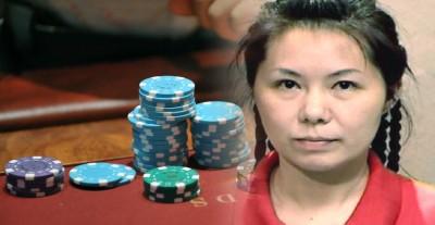 赵翠兰用假筹码骗赌场被判坐牢6个月。