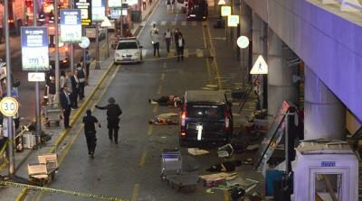 阿塔图克国际机场遭炸弹攻击酿多死伤。