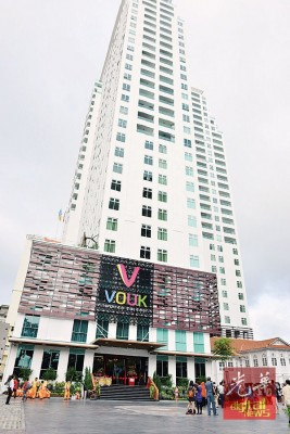 位于乔治市繁忙的苏丹阿末沙路,Vouk套房酒店是Vouk酒店管理集团进军大马酒店业的旗舰。