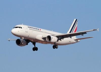 该批士兵乘搭法航一班商业客机往马里。图为法航客机。