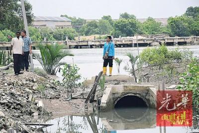 水利灌溉局计划耗资50万令吉提升水闸。