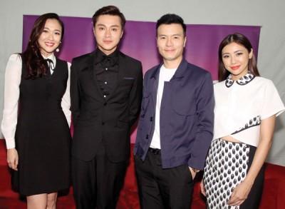 (左起)由吴天瑜、黄浩然、李洺中和蔡佩璇主演的《心门》开拍至今已两个多月,预计8月杀青,12月播映。身为监制的吴天瑜表示,相信黄浩然的加入对剧中演员有激发作用。