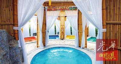 五星级海口观澜湖温泉酒店。