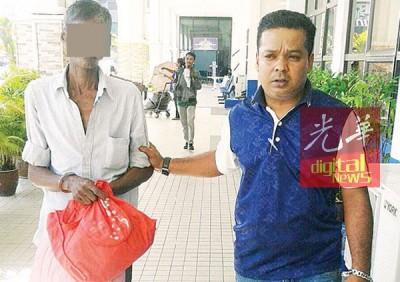 该男子因拥毒而受警署扣押查。