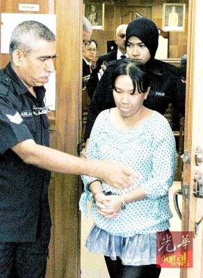 吃指控在清真寺出言侮辱伊斯兰教的华妇,受一个月精神检验和相,今再次为带上法庭。