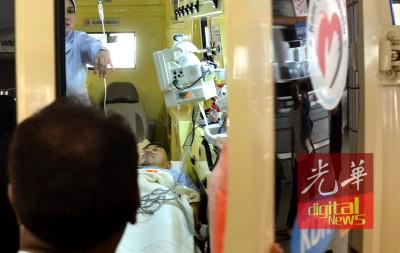 阿末巴沙已完成肠道手术情况稳定。