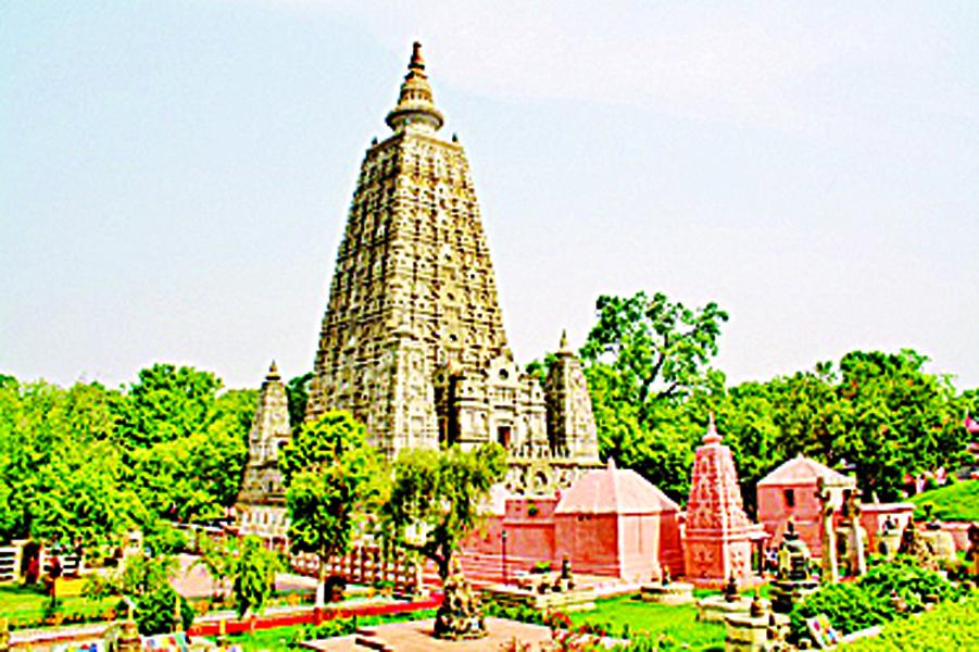 释迦摩尼变成道处菩提伽耶,居印度比哈尔。