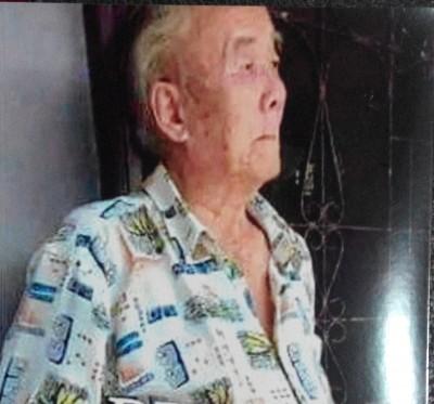 89寒暑老人彭玉潭失踪时是过在要图中的衣服。