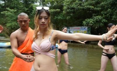 网民认为活动是破坏了佛教文化。