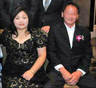 妻子萧金珠(左)不治身亡,丈夫黄添顺多处受伤。