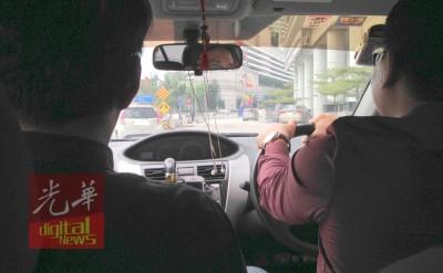 王先生1年半前开始其优步全职生涯,对记者畅谈优步经验。