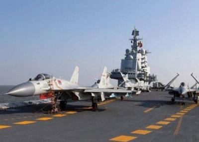 歼15不但可在辽宁号航母上使用,还适用于或采用电磁弹射起飞的002号航母。