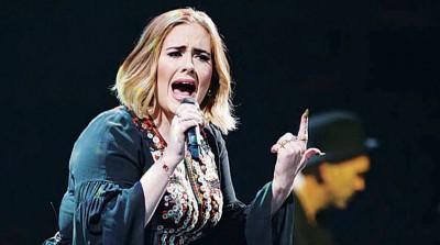 英国灵魂歌姬爱黛儿歌声感染力十足,最近忙着全球巡演。