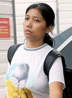 女佣苏莉卡因对93岁失智阿嫲动粗,被判坐牢24个月。