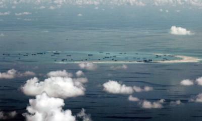 """荷兰海牙仲裁法否定中国""""九段线""""历史权利主张。"""