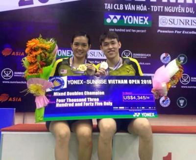 陈健铭/赖沛君到冠军梦。