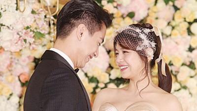 陈妍希与陈晓分别在北京举行婚礼、台北举办归宁宴,风光完成人生大事。