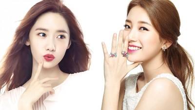 润娥(左)和秀智是目前韩国女团中,唯二加入Honor Society的成员。