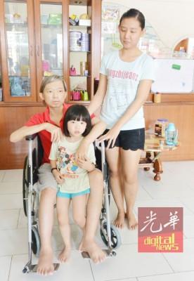 马杰辉只希望能继续接受化疗,好让生命得以延续,有更多的时间陪伴妻子及孩子。