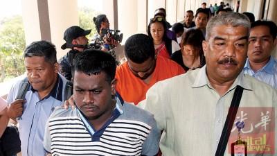 到底检察署周二以吉隆坡地庭,提控6称涉嫌拿汀王秀玲为枪杀案的被告人。