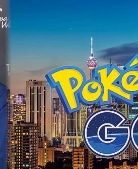 """陈永乐医生认为,""""精灵宝可梦Go""""能让人不再""""宅""""在家里,通过游戏走出外头与他人接触,并探索外面的世界。"""