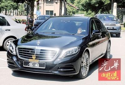 阿德南周一到首相署拜会首相纳吉。