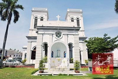 历史悠久的槟城圣母升天堂,获槟州政府拨款10万令吉进行修复。