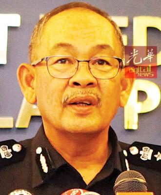 槟州总警长拿督阿都嘉化总监。