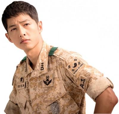 宋仲基人气旺,带动韩国陆军官校报考率。
