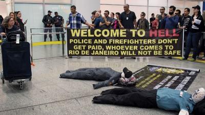 """巴西示威动荡不安,""""欢迎来到地狱""""不再只是标语?"""