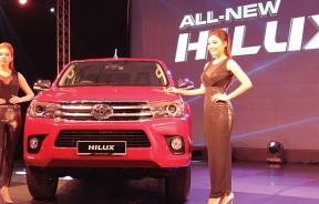 全新丰田Hilux,在车体或引擎都改头换面。