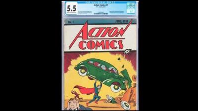 这本罕有《超人》漫画以天价卖出。